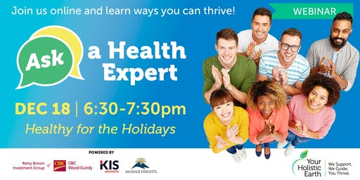 Ask the Health Expert - Online Evening