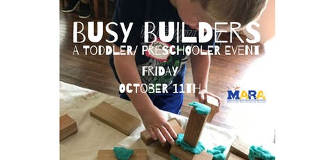Busy Builders: A Make & Play Pop-up Event tickets
