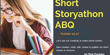 Short Storyathon Oct 2019 tickets