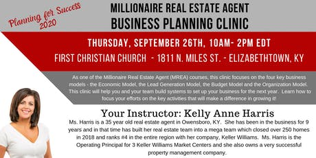 MREA: Business Planning Clinic tickets