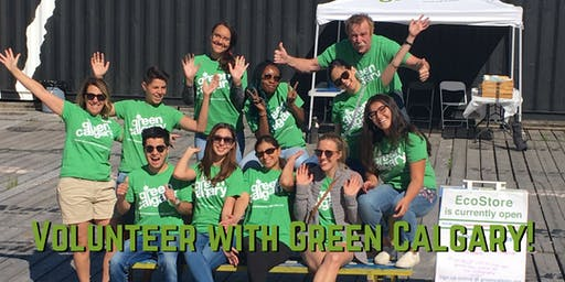 Green Calgary Volunteer Orientation Tuesday October 15th 2019