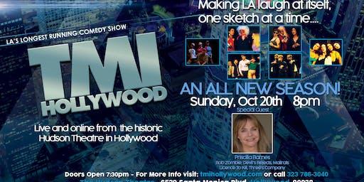 TMI Hollywood with special guest Priscilla Barnes