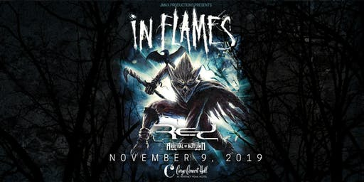 In Flames at Cargo Concert Hall