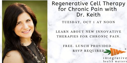 Regenerative Cell Therapy for Chronic Pain with Dr. Keith