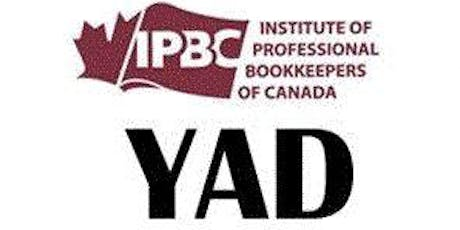 YAD Practical Bookkeeping April 2020 Advanced Workshop tickets