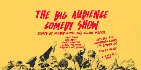 The Big Audience Comedy Show tickets