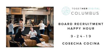 Columbus Board Recruitment Happy Hour tickets