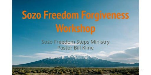 Sozo Forgiveness Workshop