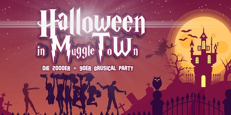 Halloween in MuggleToWn - 2000er, 90er, 10er Grusical Party Tickets