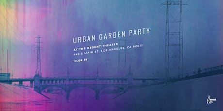 Urban Garden Party 2019 tickets