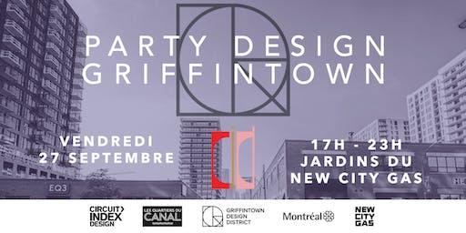 Party Design Griffintown aux Jardins du New City Gas