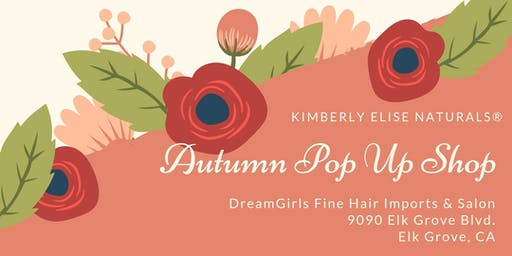 Natural Hair Care Pop-Up Shop