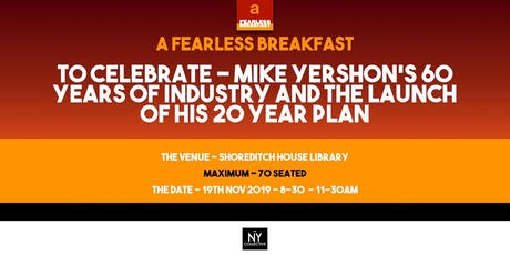 A Fearless Breakfast - Celebrating 60 Years of Mike Yershon tickets