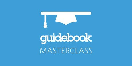 Guidebook Builder Skills Masterclass tickets