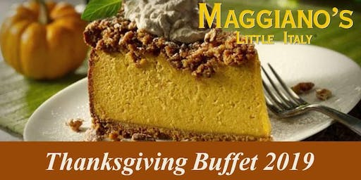 Maggiano's Galleria Thanksgiving Day Buffet 2019