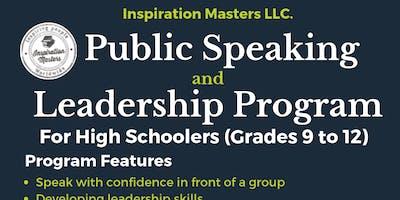 High Schoolers Public Speaking and Leadership Program (Irving-Las Colinas)