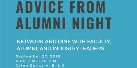 Advice From Alumni Panel Event tickets