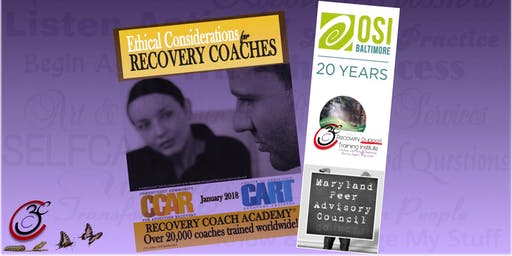 CCAR Ethical Considerations for Recovery Coaches