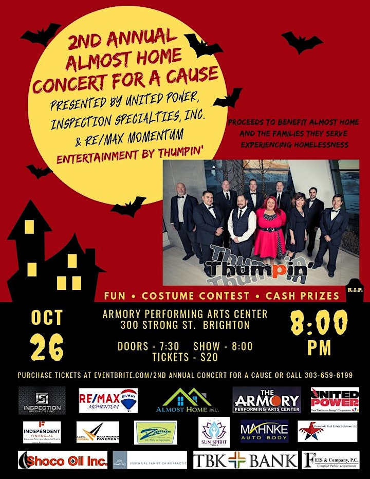 2nd Annual Concert for a Cause to Benefit Almost Home image