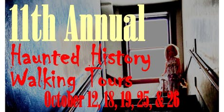 Haunted History Walking Tour - Pocatello Electric tickets