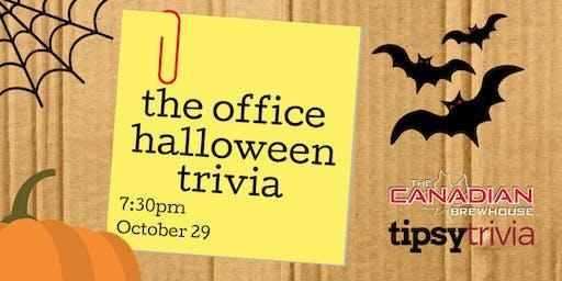 The Office Halloween Trivia - Oct 29, 7:30pm - CBH Grasslands