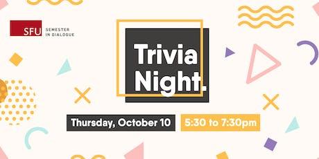 Semester in Dialogue Trivia Night tickets