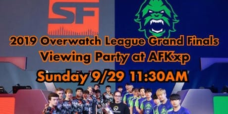 Overwatch Grand Finals Viewing Party  at AFKxp tickets
