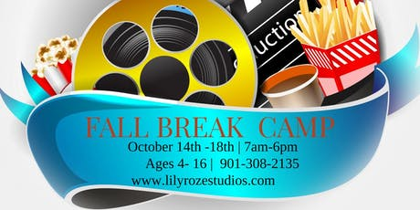 FALL BREAK CAMP 2019  AT LILYROZE STUDIOS tickets