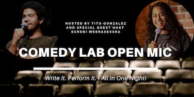 Comedy Lab Open Mic at Monaghan's!