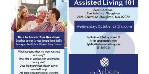 Assisted Living 101 Educational Event!