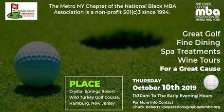 The NY Black MBA 1st Annual Golf Classic tickets