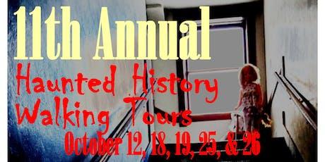 Haunted History Walking Tour - Historic Yellowstone Hotel tickets
