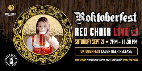 Rocktoberfest with Red Chair! tickets