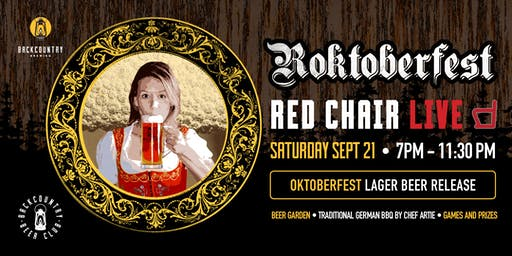 Rocktoberfest with Red Chair!