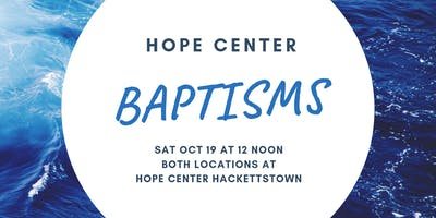 Hope Center Baptism Registration