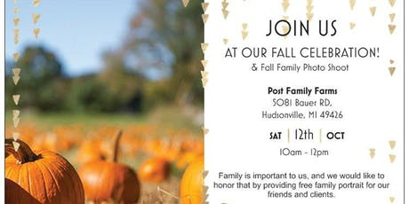 SRE - Fall Family Event & Photos tickets