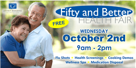 Fifty and Better Health Fair tickets