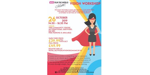Vision Workshop for Mums in Business