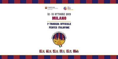 1° Trobada Penyes Italofone Milano 2019