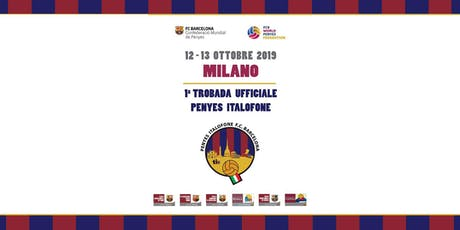 1° Trobada Penyes Italofone Milano 2019 biglietti