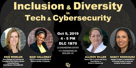 Inclusion & Diversity in Technology & Cybersecurity tickets
