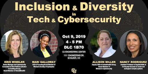 Inclusion & Diversity in Technology & Cybersecurity