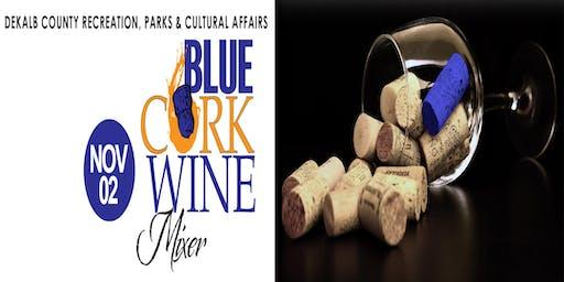 Blue Cork Wine Mixer