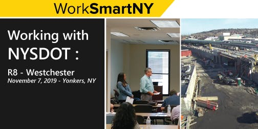 Working with NYSDOT: Region 8 (Yonkers, NY)
