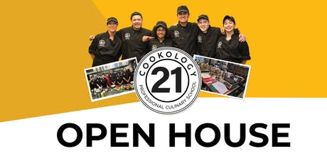 Cookology 21 Professional Culinary School Open House tickets