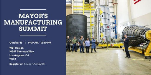Los Angeles Mayor's Manufacturing Summit