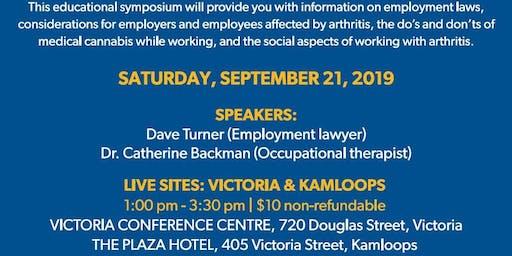 Arthritis Talks: Arthritis and Work (Victoria)