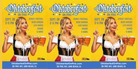 Oktoberfest On Pine Avenue! Outdoor Festival tickets