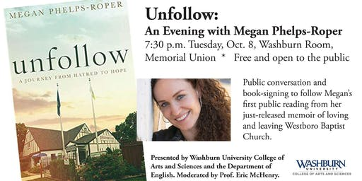 Unfollow: An Evening with Megan Phelps-Roper