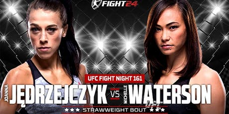 UFC Fight Night 161 - Joanna vs Waterson tickets